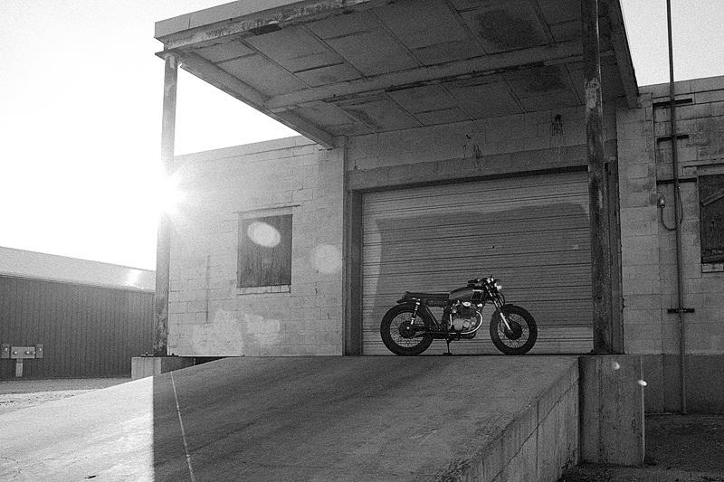 Honda CB350 Blue - кастом Майка Храника