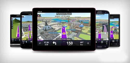 Sygic GPS Navigation Asia Maps v2013.01 ANDROiD - rGPDA