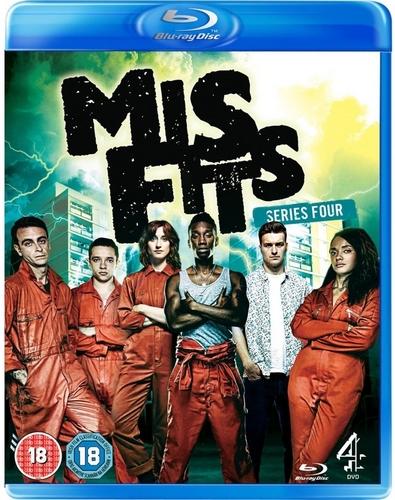 Отбросы / Misfits (2012) BDRip [H.264/720p] [Сезон 4, Серии 1-8 (8)] (Кубик в кубе, Novafilm)