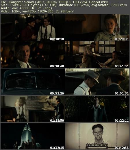 Gangster Squad (2013) BluRay 1080p 5.1CH x264-Ganool