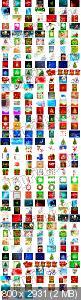 Огромный сборник новогодних клипартов 2013 / Christmas Cliparts Vector Collection 2013