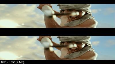 Жизнь Пи в 3Д, Трейлер / Life of Pi in 3D, Trailer Вертикальная анаморфная