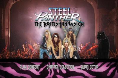 Steel Panther - British Invasion (2012)DVD9+DVD5