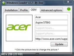 Windows 7 Loader by Daz 2.2 (ENG|2012)