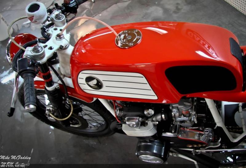 Кафе рейсер Honda CB550