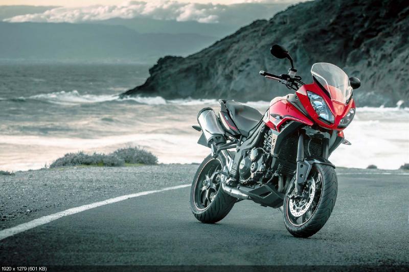 Фотографии мотоцикла Triumph Tiger Sport 2013