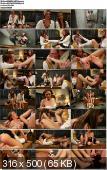 Playing Footsies In The Girls Room - Kink/ FootWorship (2013/ HD 720p)