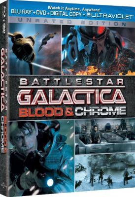 Звёздный крейсер Галактика: Кровь и Хром / Battlestar Galactica: Blood and Chrome (2012) BDRip 720p