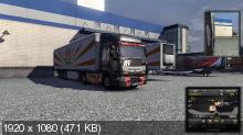 � ������ �� ������ 3 / Euro Truck Simulator 2 (v.1.3.1s) (2012/RUS/MULTi34/RePack by Fenixx)
