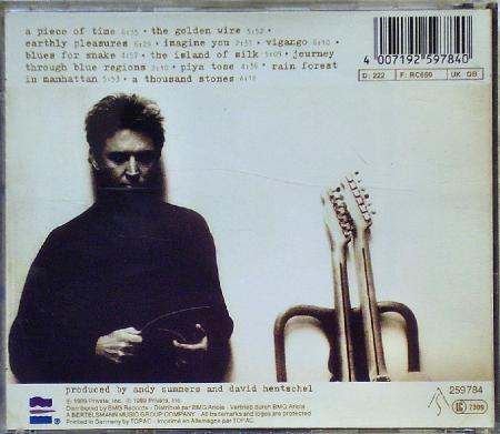 Andy Summers -The Golden Wire- (1989), lossless, flac, mp3