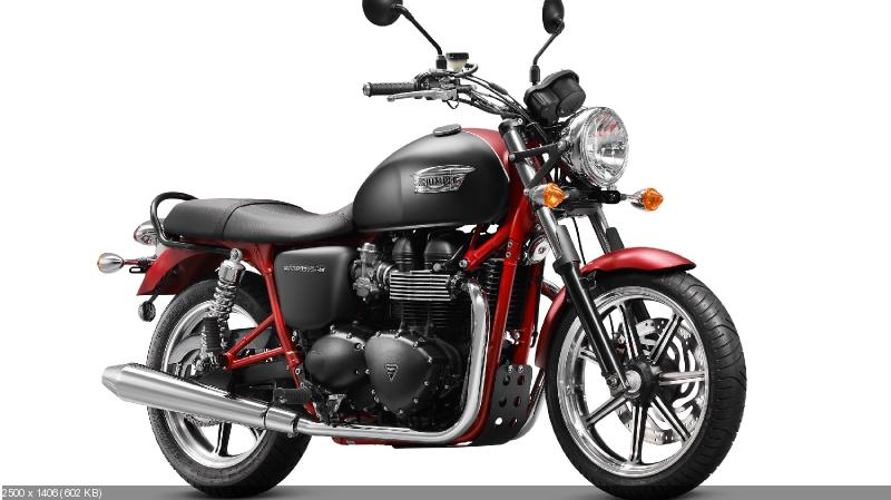 Мотоциклы Triumph Bonneville SE и Speed Triple SE 2013