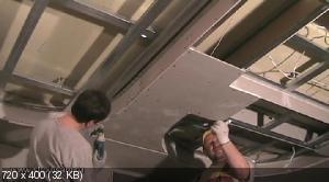 Потолки из гипсокартона своими руками видеокурс