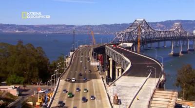 Труднейший в мире ремонт. Мост в Сан Франциско / Worlds Toughest Fixes. San Francisco Bridge (2010) HDTVRip