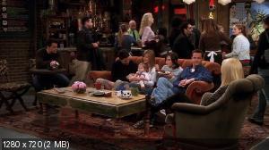 Друзья [1-10 Сезон] / Friends (1994-2004) BDRip 720p