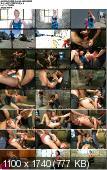 Sasha Knox - Tied up and Taken Down! - Kink/ HardcoreGangBang (2013/ HD 720p)
